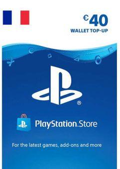 PlayStation Network (PSN) Card - 40 EUR (FRANCE)
