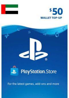 PlayStation Network (PSN) Card - 50 USD (UAE)