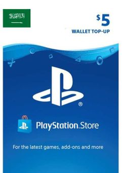 PlayStation Network (PSN) Card - 5 USD (KSA)