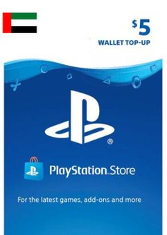 PlayStation Network (PSN) Card - 5 USD (UAE)