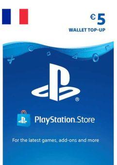 PlayStation Network (PSN) Card - 5 EUR (FRANCE)