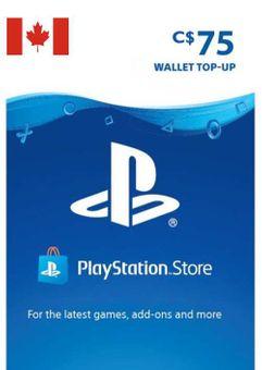 Tarjeta PlayStation Network (PSN) - 75 CAD (CANADA)