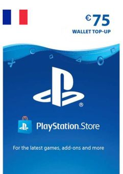 PlayStation Network (PSN) Card - 75 EUR (FRANCE)