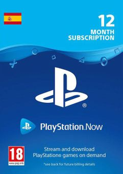 PlayStation Now 12 Month Subscription (Spain)