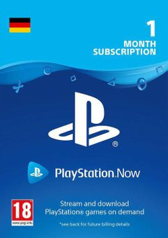 PlayStation Now 1 Month Subscription (Germany)