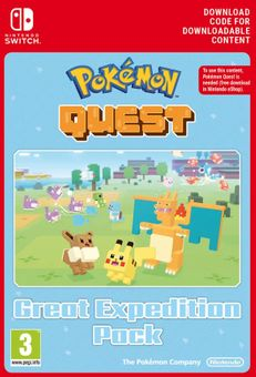 Pokemon Quest - Great Expedition Pack Switch (EU)