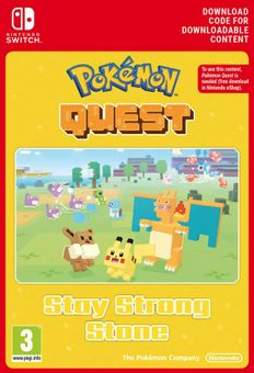 Pokemon Quest - Stay Strong Stone Switch (EU)