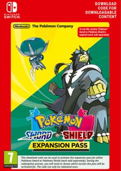 Pokemon Sword and Shield Expansion Pass Switch (UE)