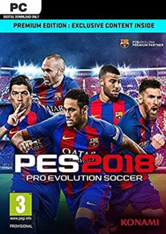 Pro Evolution Soccer 2018 Premium Edition PC (EU)
