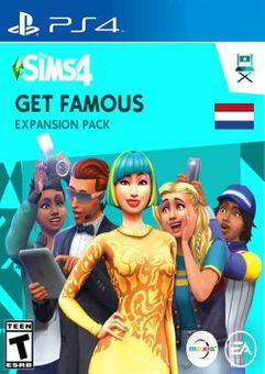 The Sims 4 - Get Famous Expansion Pack PS4 (Netherlands)