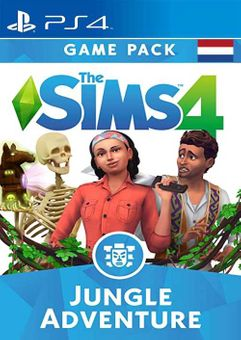 The Sims 4 - Jungle Adventure Expansion Pack PS4 (Netherlands)