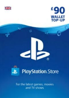 Playstation Network (PSN) Card - £90 (UK)