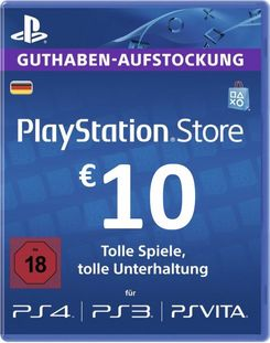 PlayStation Network (PSN) Card - 10 EUR (Germany)