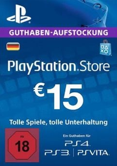 PlayStation Network (PSN) Card - 15 EUR (Germany)