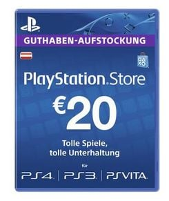 PlayStation Network (PSN) Card - 20 EUR (Austria)