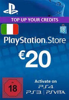 PlayStation Network (PSN)-kaart - 20 EUR (Italië)
