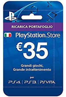 PlayStation Network (PSN) Card - 35 EUR (Italy)