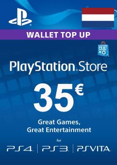 PlayStation Network (PSN) Card - 35 EUR (Netherlands)