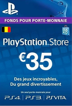 PlayStation Network (PSN) Card - 35 EUR (Belgium)