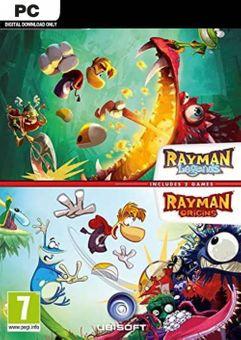 Rayman Legends +  Rayman Origins PC