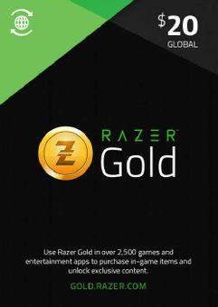 Razer Gold 20 USD (Global)