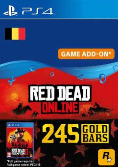 Red Dead Online - 245 Gold Bars PS4 (Belgium)