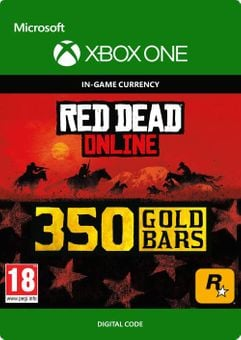 Red Dead Online: 350 Gold Bars Xbox One