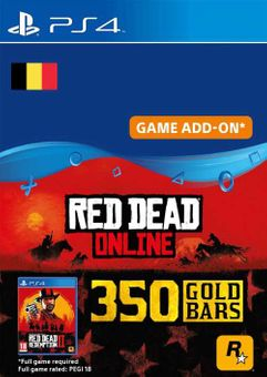 Red Dead Online - 350 Gold Bars PS4 (Belgium)