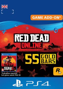 Red Dead Online: 55 Gold Bars PS4 (UK)