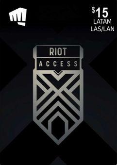 RIOT ACCESS 15 USD (LATAM)