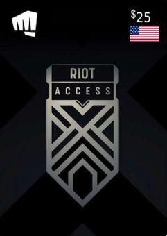 RIOT ACCESS 25 USD (USA)
