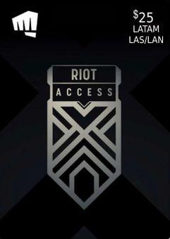 RIOT ACCESS 25 USD (LATAM)