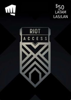 RIOT ACCESS 50 USD (LATAM)