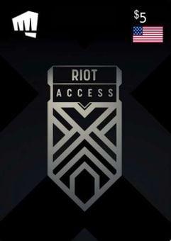 RIOT ACCESS 5 USD (USA)