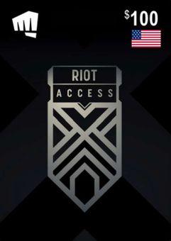 RIOT ACCESS 100 USD (USA)
