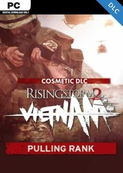 Rising Storm 2 Vietnam Pulling Rank Cosmetic PC - DLC