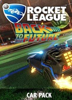 Rocket League PC - Back to the Future Car DLC