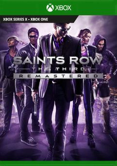 Saints Row The Third Remastered Xbox One (UK)