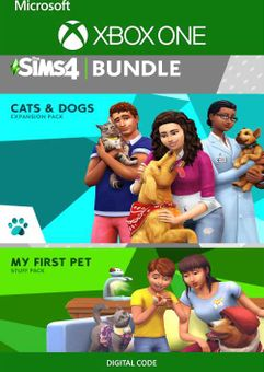 The Sims 4 Cats and Dogs Plus My First Pet Stuff Bundle Xbox One (US)