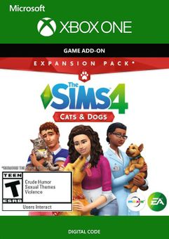 The Sims 4 - Cats and Dog Expansion Pack Xbox One