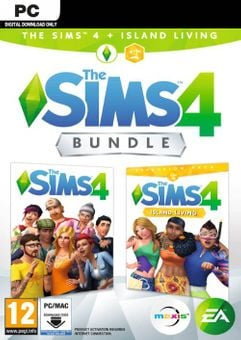 The Sims 4 + Island Living Bundle PC