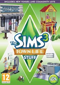 The Sims 3: Town Life Stuff PC/Mac