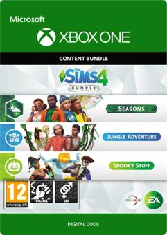 The Sims 4 Bundle - Seasons, Jungle Adventure, Spooky Stuff Xbox One