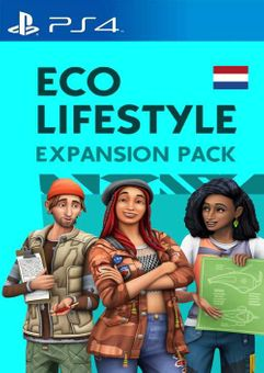 The Sims 4 - Eco Lifestyle Expansion Pack PS4 (Netherlands)