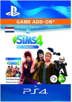 The Sims 4 - Vampires Expansion Pack PS4 (Netherlands)