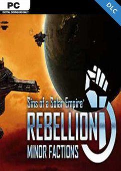 Sins of a Solar Empire Rebellion - Minor Factions PC - DLC