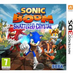Sonic Boom Shattered Crystal 3DS - Game Code