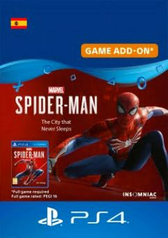 Marvels Spider-Man The City That Never Sleeps PS4 (Spain)