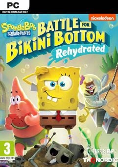 SpongeBob SquarePants: Battle for Bikini Bottom - Rehydrated PC + DLC