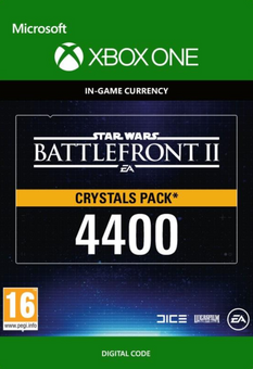 Star Wars Battlefront 2: 4400 Crystals Xbox One